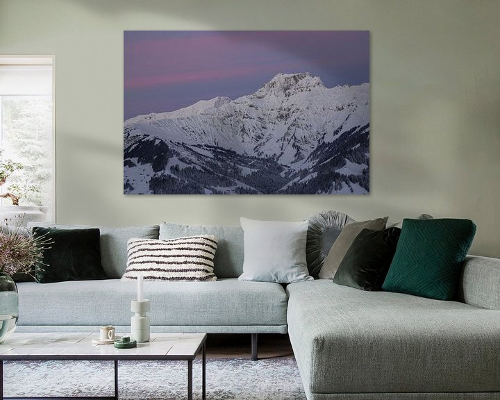 Beispiel: Sonnenaufgang in den Berner Alpen von Martin Steiner