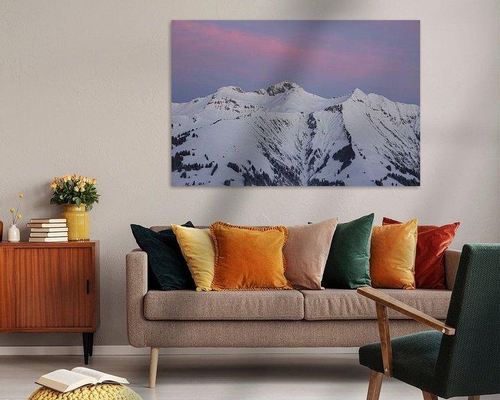 Sfeerimpressie: Zonsopgang in de Berner Alpen van Martin Steiner