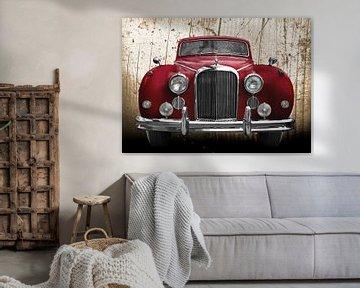 Jaguar Mark IX in antiek rood van aRi F. Huber