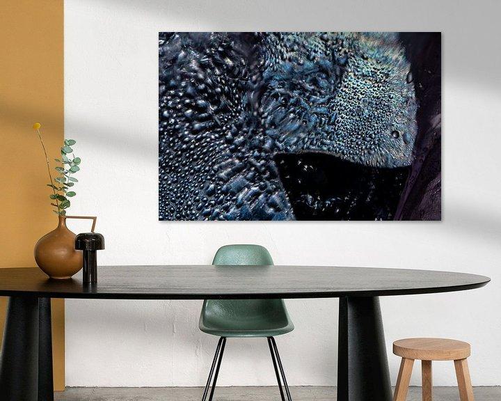 Impression: Poisson arc-en-ciel abstrait sur Nanda Bussers