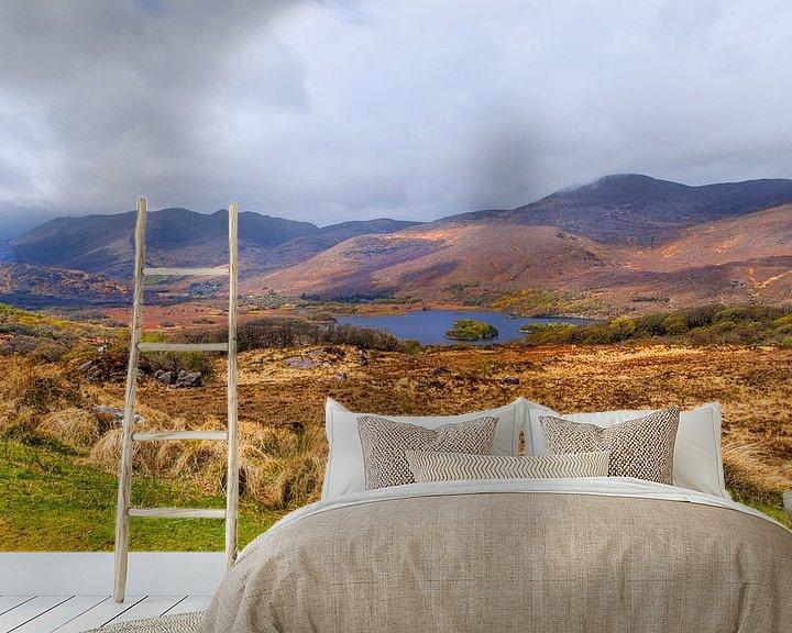 Beispiel fototapete: Ladies View, ein Aussichtspunkt entlang des Ring of Kerry im Killarney National Park, Irland. von Mieneke Andeweg-van Rijn