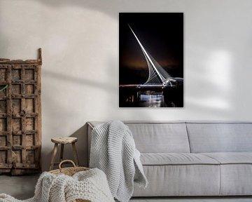 Calatrava brug De Citer van Jolanda van Straaten