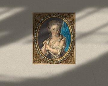 Louis-Marin Bonnet, Charme des Morgens, 1777 von Atelier Liesjes