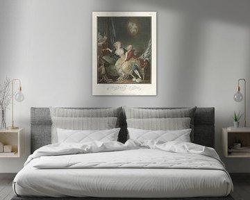 Louis-Marin Bonnet, Der zerbrochene Fächer,1769 - 1793 2