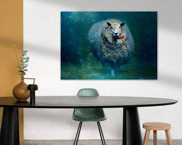 A sheep in love von Anne Seltmann