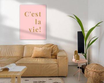 C'est la vie! van MarcoZoutmanDesign