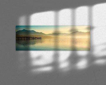 Chiemsee Panorama van Martin Wasilewski