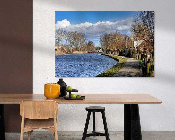 Beispiel: Altrhein bei Bodegraven von Rob IJsselstein