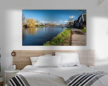 Oude Rijn bij Bodegraven.