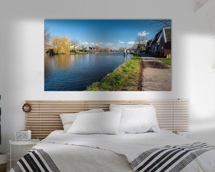 Beispiel: Altrhein bei Bodegraven. von Rob IJsselstein