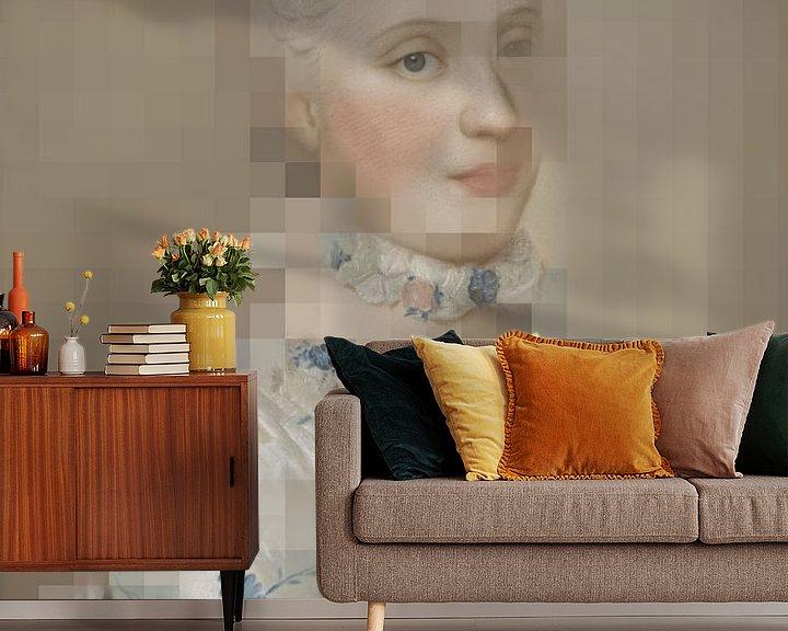 Impression: Maria Josepha de Saxe, Dauphine de France, Jean-Etienne Liotard sur Studio POPPY