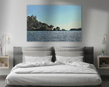 Nieuw Zeeland - Bay of Islands - Schilderij