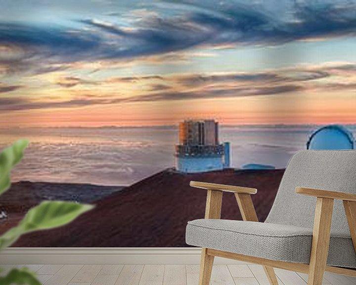 Sfeerimpressie behang: Op het dak van Hawaii van Jim De Sitter