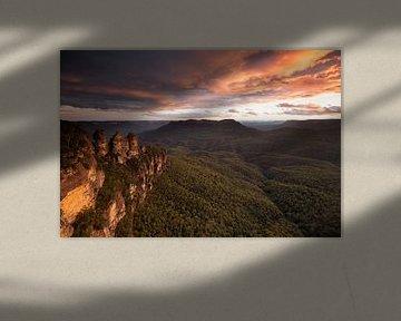 Three Sisters  - Blue Mountains - Australien von Jiri Viehmann