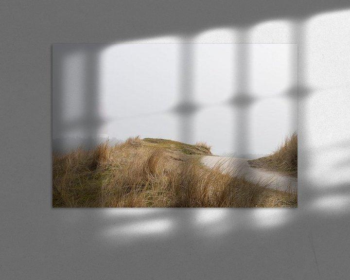 Beispiel: Nebel um den Leuchtturm von Ameland von Rob IJsselstein