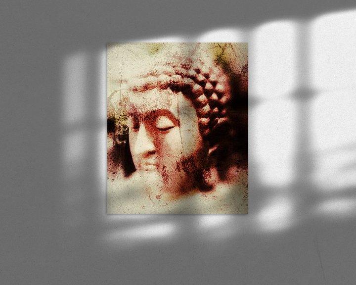 Beispiel: Buddha Aquarell 16032021 von Michael Ladenthin