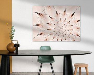 Blütenstern Dezent von Claudia Gründler