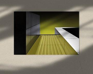 Gelbe Reflexion von Anita Martin, AnnaPileaFotografie