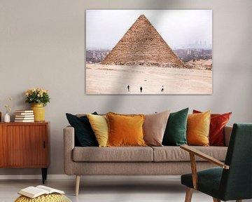 Pyramide: Kairo, Ägypten von The Book of Wandering