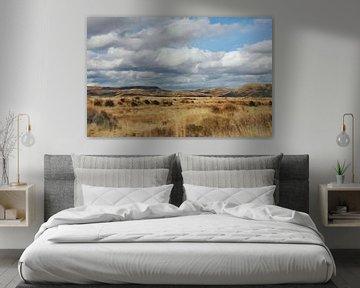 """Landschaft - Neuseeland - """"On the Road"""" - Roadtrip - Gemälde von Schildersatelier van der Ven"""