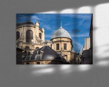 Blick auf die Kirche Saint-Sulpice in Paris, Frankreich von Rico Ködder