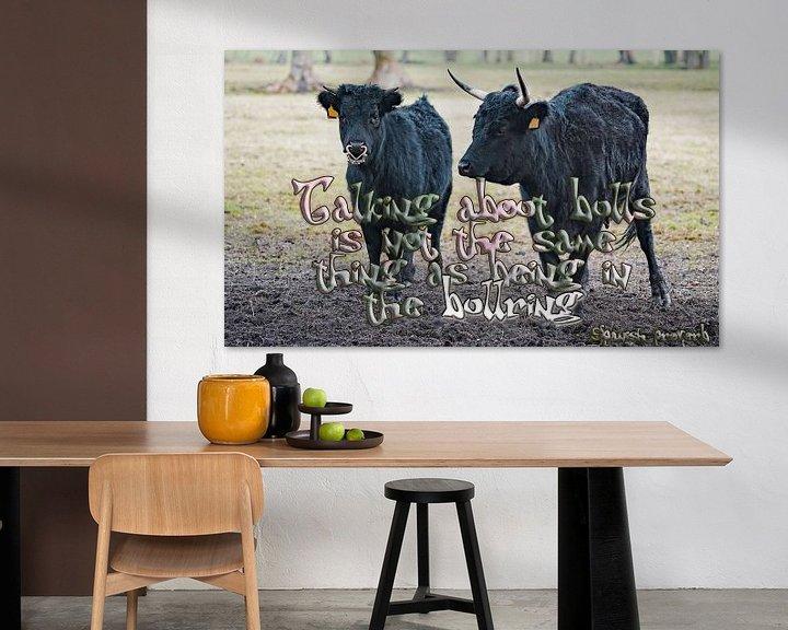 Sfeerimpressie: Praten over stieren is niet hetzelfde als in de arena zijn van Wieland Teixeira