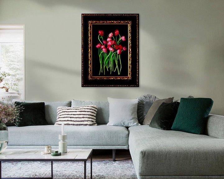 Beispiel: Stillleben mit Tulpen von Thomas Jäger
