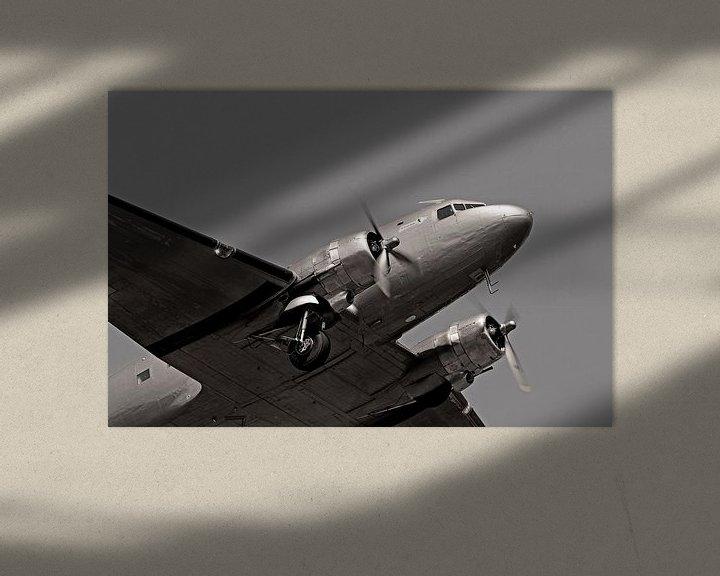Sfeerimpressie: Raisin bommenwerper in vlucht boven Berlijn van Frank Herrmann