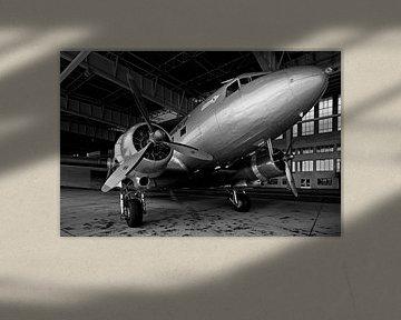 Rosinenbomber auf dem alten Flughafen Berlin-Tempelhof von Frank Herrmann
