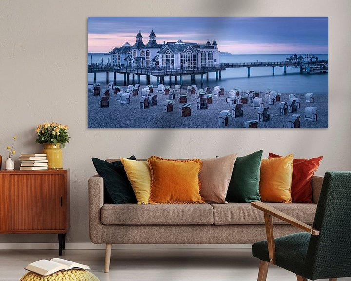 Sfeerimpressie: Sellin Pier, Rügen, Duitsland van Henk Meijer Photography