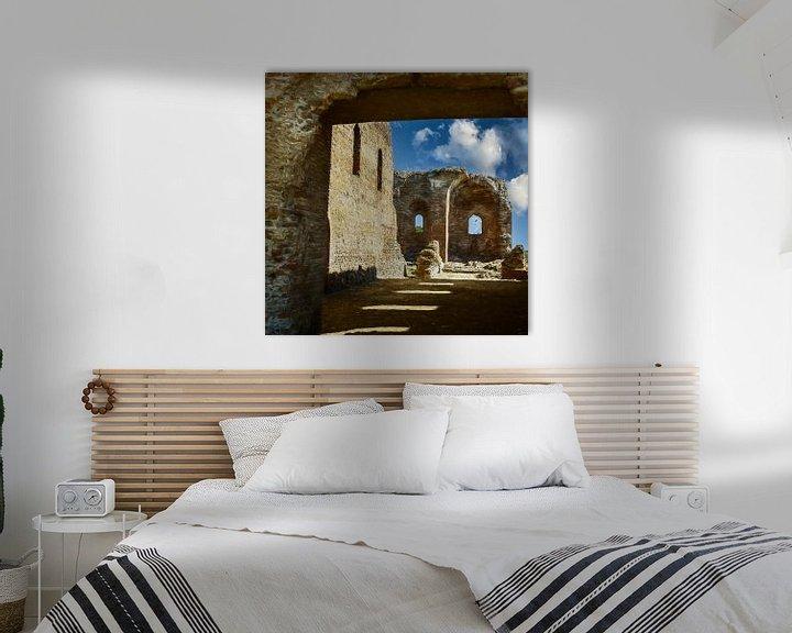 Sfeerimpressie: De ruïnes van Calabrië Italië van Dick Jeukens