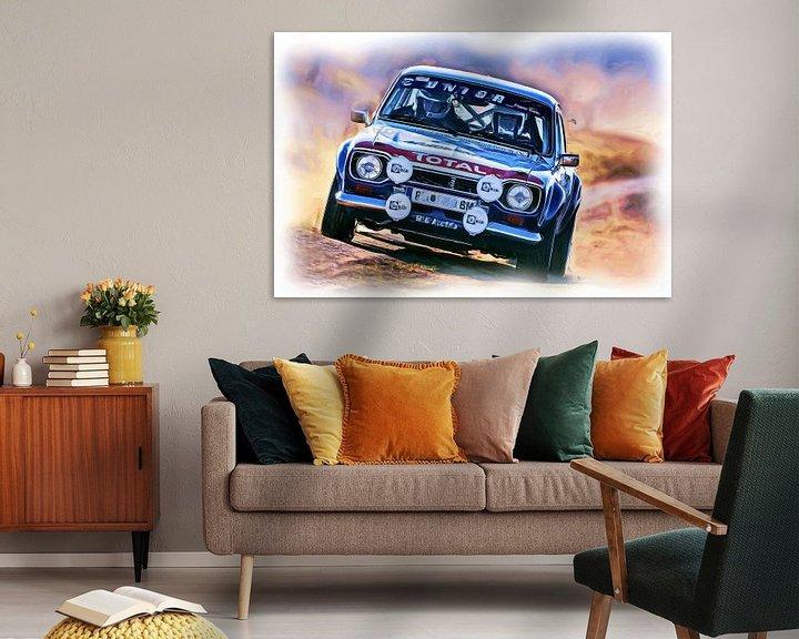 Beispiel: Ford Escort Rallye von DeVerviers