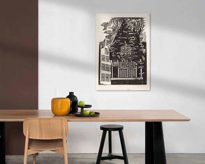 Beispiel: Amsterdam, Begijnhof, Meijer Bleekrode, 1925 von Atelier Liesjes