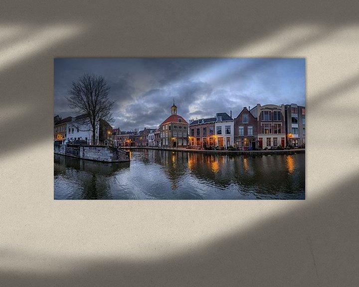 Beispiel: Das Gepäckträgerhaus, Schiedam, Niederlande von Hans Kool