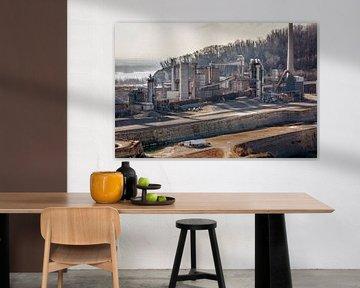 ENCI industrie Maastricht van Rob Boon