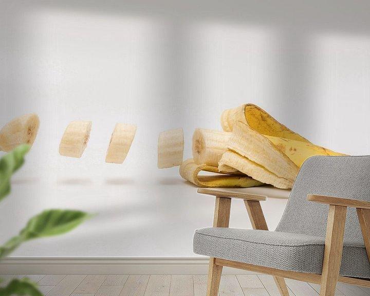 Beispiel fototapete: Banane von Hilda booy