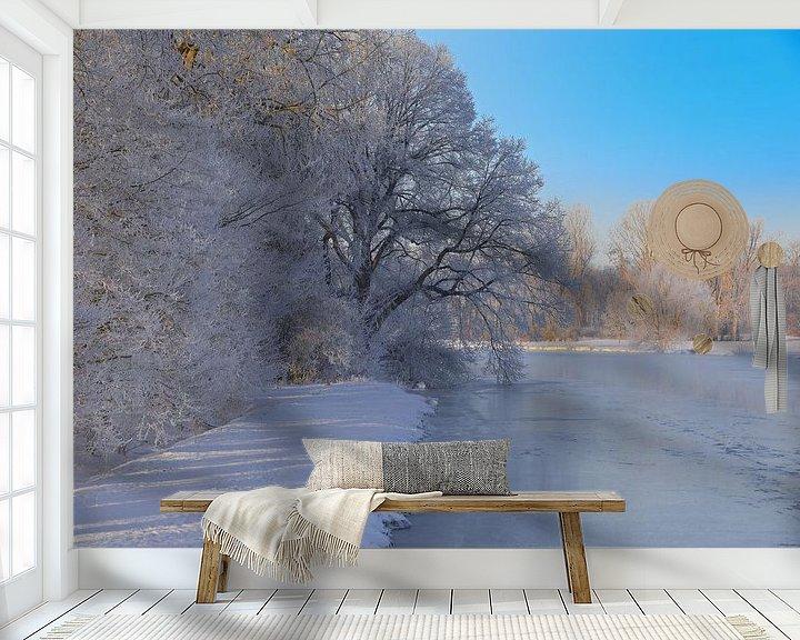 Sfeerimpressie behang: Bevroren dysenterie van Bernhard Kaiser