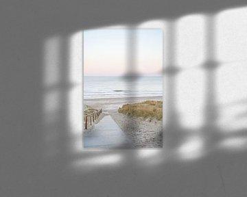 Zonsopkomst In Egmond Aan Zee van Henrike Schenk