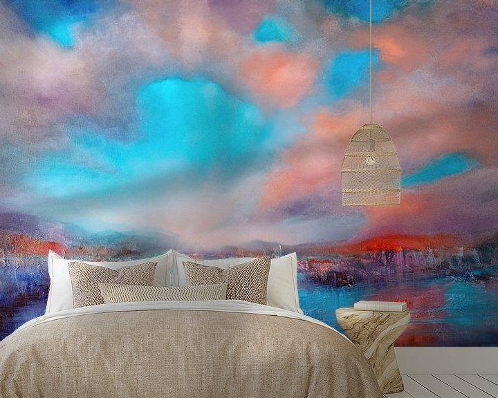 Sfeerimpressie behang: Geopend. van Annette Schmucker