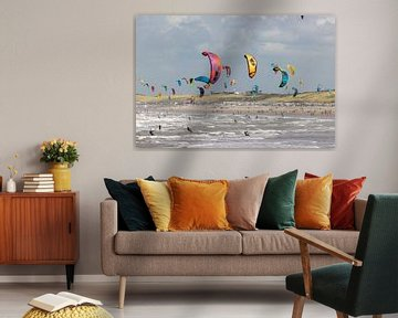 Strand Wijk aan Zee von Apple Brenner