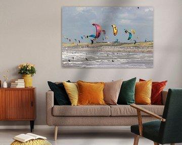 Strand Wijk aan Zee van Apple Brenner