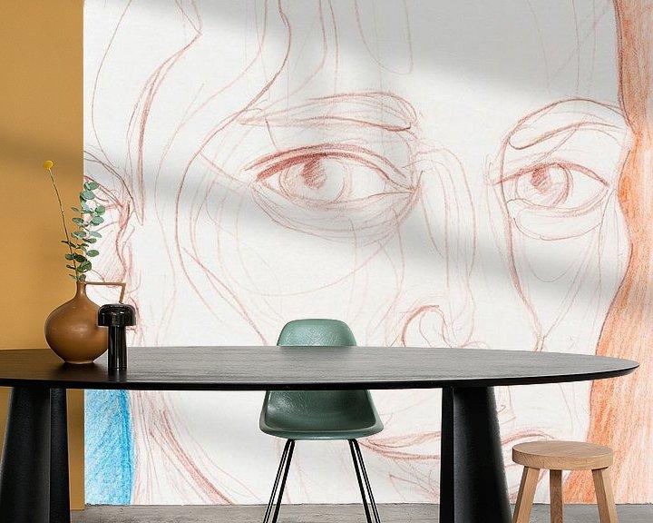 Beispiel fototapete: Klarer Kopf von ART Eva Maria