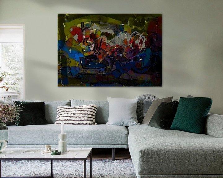 Beispiel: Aquarell - Phantasie von arte factum berlin