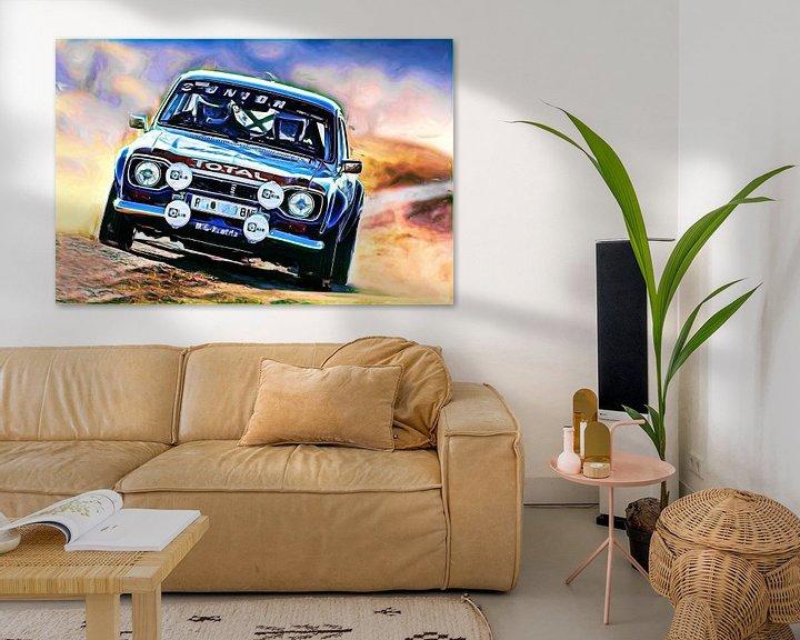 Beispiel: Ford Escort Rallye - Variante II von Jean-Louis Glineur alias DeVerviers