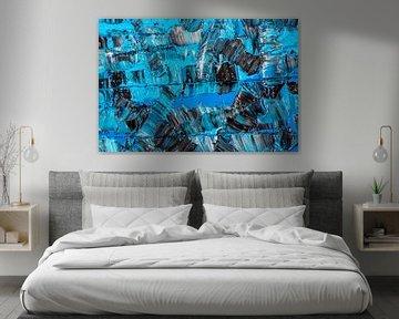 blau & schwarz von Jan Fritz
