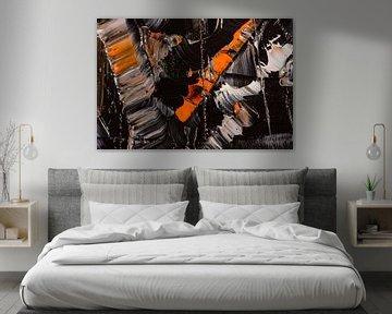 orange & schwarz von Jan Fritz