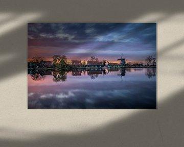 Nauerna Sonnenuntergang von Dick Portegies