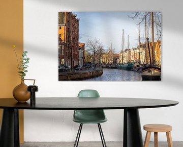 Groningen oude haven van Marly De Kok