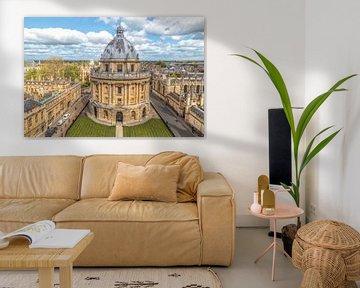 Ansicht der Radcliffe Camera, Oxford, Oxfordshire, England von Mieneke Andeweg-van Rijn
