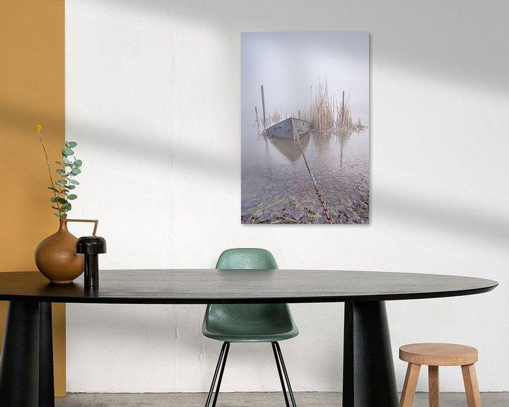 Sfeerimpressie: Een lekke boot van Albert Lamme